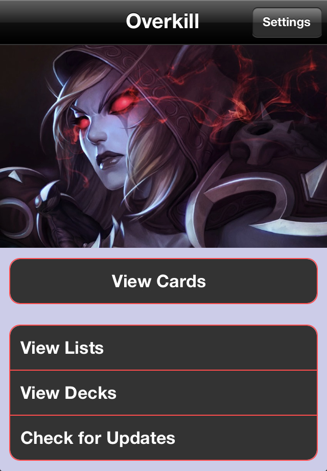 Screenshot Overkill: WoW TCG